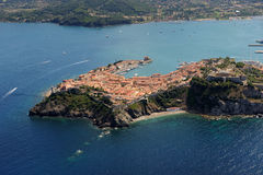 D'Elba-Portoferraio van Isola haven Royalty-vrije Stock Afbeelding