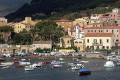 D'elba van Isola - porto azzurro stock foto