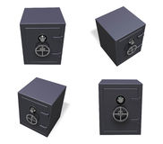 3D Electronic safe icon. 3D Icon Design Series. Royalty Free Stock Image