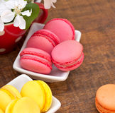 D elicious Macaroons - macarons Royalty Free Stock Photo