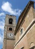 D'Elsa Colle di Val (Toskana) Stockfoto