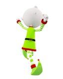 3d Elves for Christmas Stock Photo