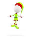 3d Elves for Christmas Stock Photography