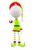 3d Elves with hand shake pose Royalty Free Stock Photo