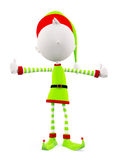 3d Elves with thumbs up pose Stock Photography
