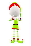 3d Elves with thumbs up pose Stock Images