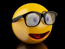 3d Emoji icons with facial expressions. Stock Photos