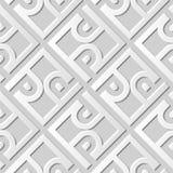 3D empaquettent la géométrie croisée de contrôle de spirale de cadre de l'art 561 illustration de vecteur