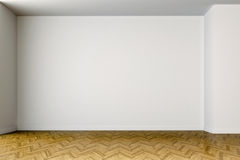 3d empty interior with white walls. 3d empty clean interior with white walls stock illustration