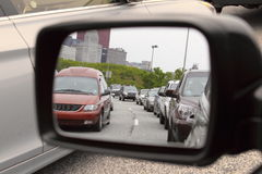 dżemu ruch drogowy Zdjęcie Royalty Free