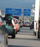 dżemu Spain ruch drogowy Fotografia Royalty Free