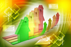 3d, Energy efficiency concept Royalty Free Stock Photography