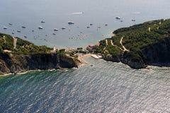 d'Enfola van Elba eiland-Capo Royalty-vrije Stock Afbeeldingen