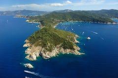 d'Enfola van Elba eiland-Capo Royalty-vrije Stock Afbeelding