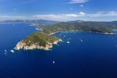 d'Enfola van Elba eiland-Capo Royalty-vrije Stock Fotografie