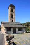 d'Engolasters de Sant Miquel (Andorre) Photographie stock libre de droits