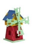 3D enigma - moinho de vento Foto de Stock Royalty Free