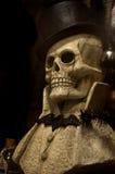 Dżentelmen czaszka Zdjęcie Stock