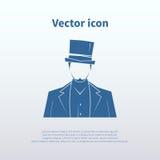 Dżentelmen ikona Fotografia Stock