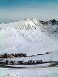 d'Envalira Andorra van de haven stock afbeeldingen