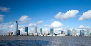 dżersejowa nowa panorama Zdjęcie Stock
