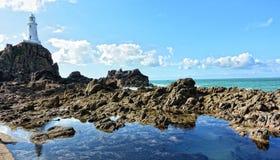 Dżersejowa wyspa Zdjęcia Stock