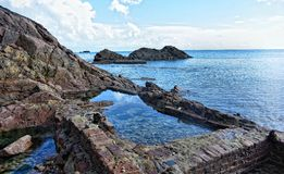 Dżersejowa wyspa Obrazy Stock