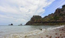 Dżersejowa wyspa zdjęcie stock