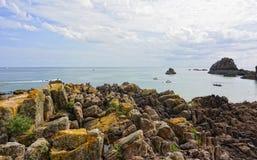 Dżersejowa wyspa Obrazy Royalty Free