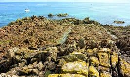 Dżersejowa wyspa Zdjęcie Royalty Free