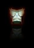 3D esculpen la armadura del gladiador Imagenes de archivo