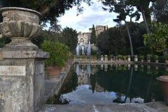 d'Este de villa, Tivoli, Italie photo libre de droits