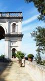 D'Este en Tivoli, Italia, Europa del chalet Imagen de archivo