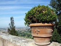 D'Este en Tivoli, Italia, Europa del chalet Imagenes de archivo
