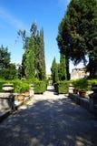 D'Este en Tivoli, Italia, Europa del chalet Fotografía de archivo