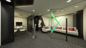 3D esteriore Immagini Stock Libere da Diritti