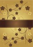 D'or et chocolat illustration libre de droits