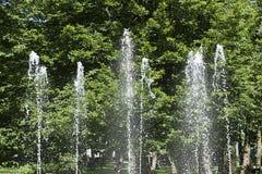 Dżetowa fontanna Zdjęcia Royalty Free