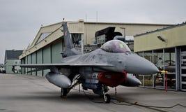 Dżetowy F-16 Zdjęcia Stock