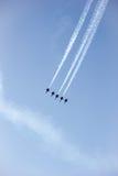 Dżetowy latanie Zdjęcia Royalty Free