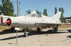 Dżetowy MIG-21 samolot Obraz Royalty Free