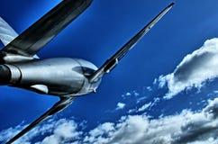 Dżetowy samolot zdjęcia royalty free