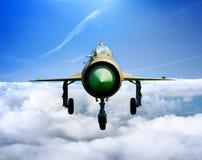 Dżetowy samolot MiG Zdjęcie Royalty Free