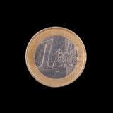 3 d 1 euro przedmiot odizolowane Zdjęcie Royalty Free