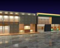 3D exterior residential Stock Photos