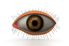 3d eye Stock Photography