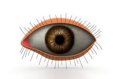 3d eye Stock Photography