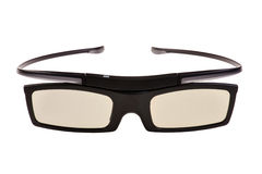 3d eyeglasses on white Stock Photos