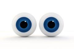 3d eyes Royalty Free Stock Photo