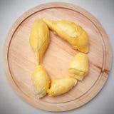 D für Durian lizenzfreies stockfoto
